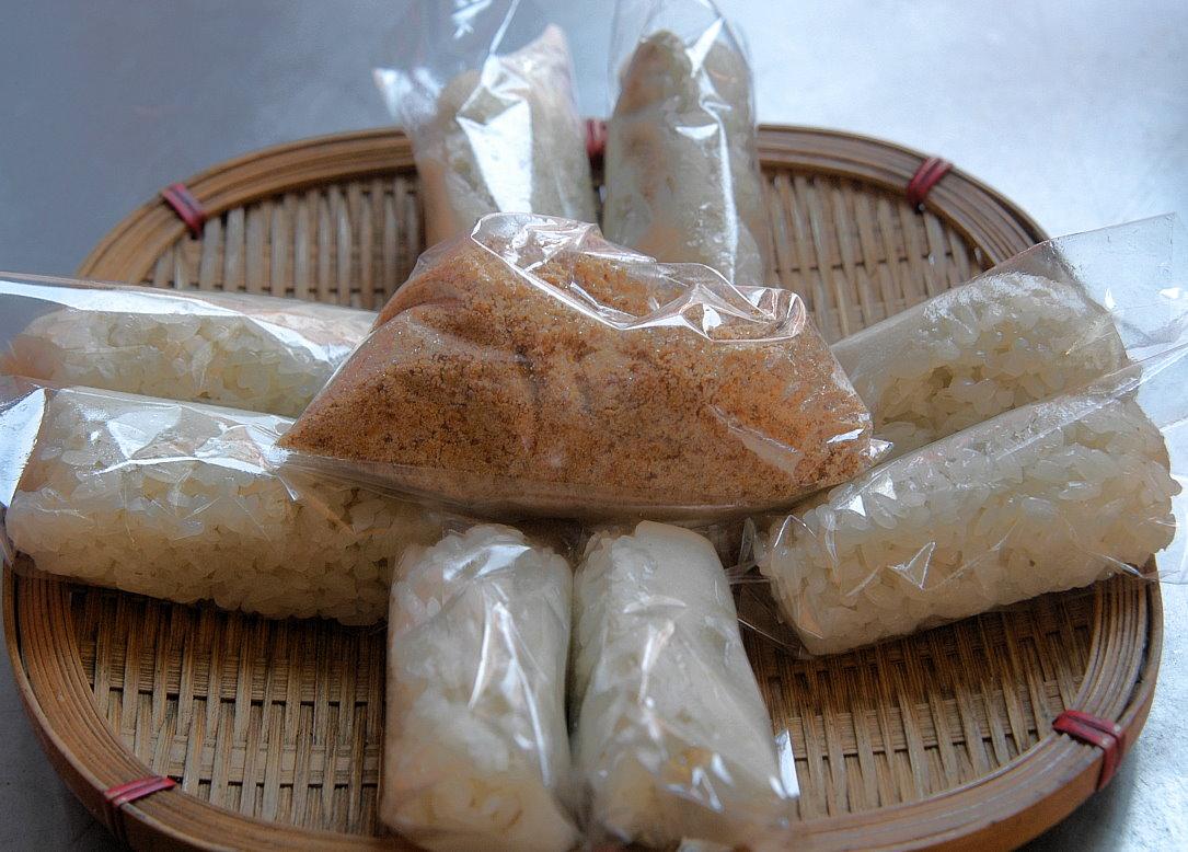 宜蘭美食 麻糬握壽司